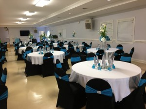 SRC Wedding Reception Set up 1